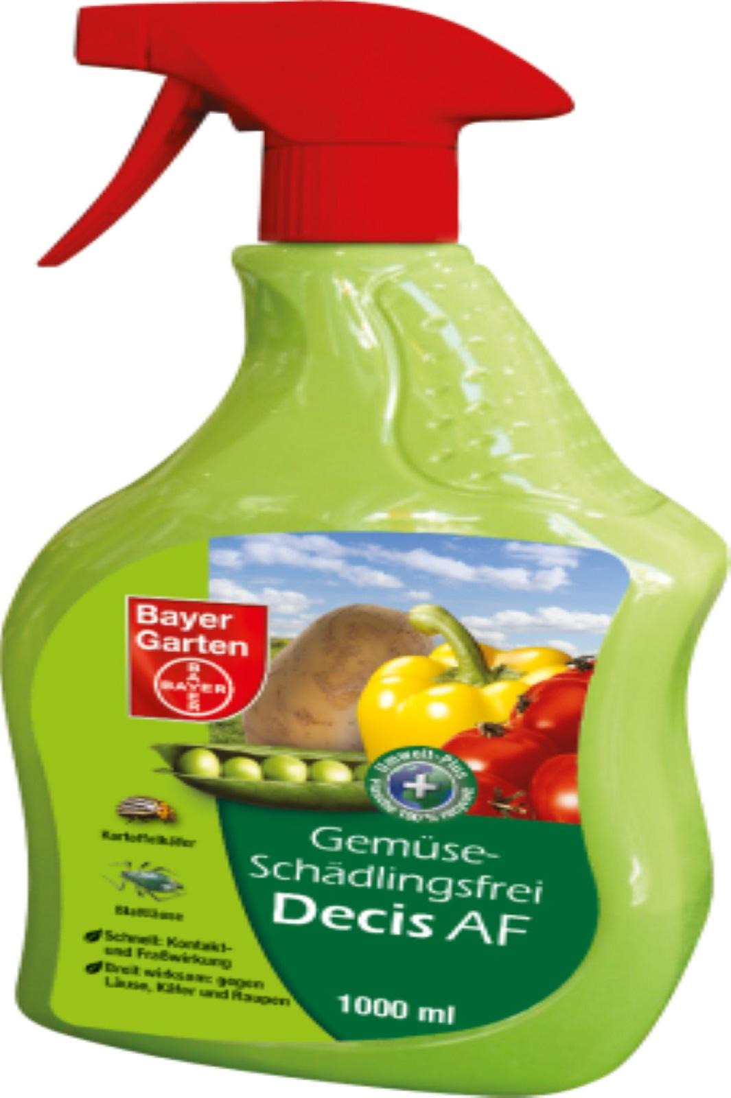 Gemüse-Schädlingsfrei Decis® AF von Bayer