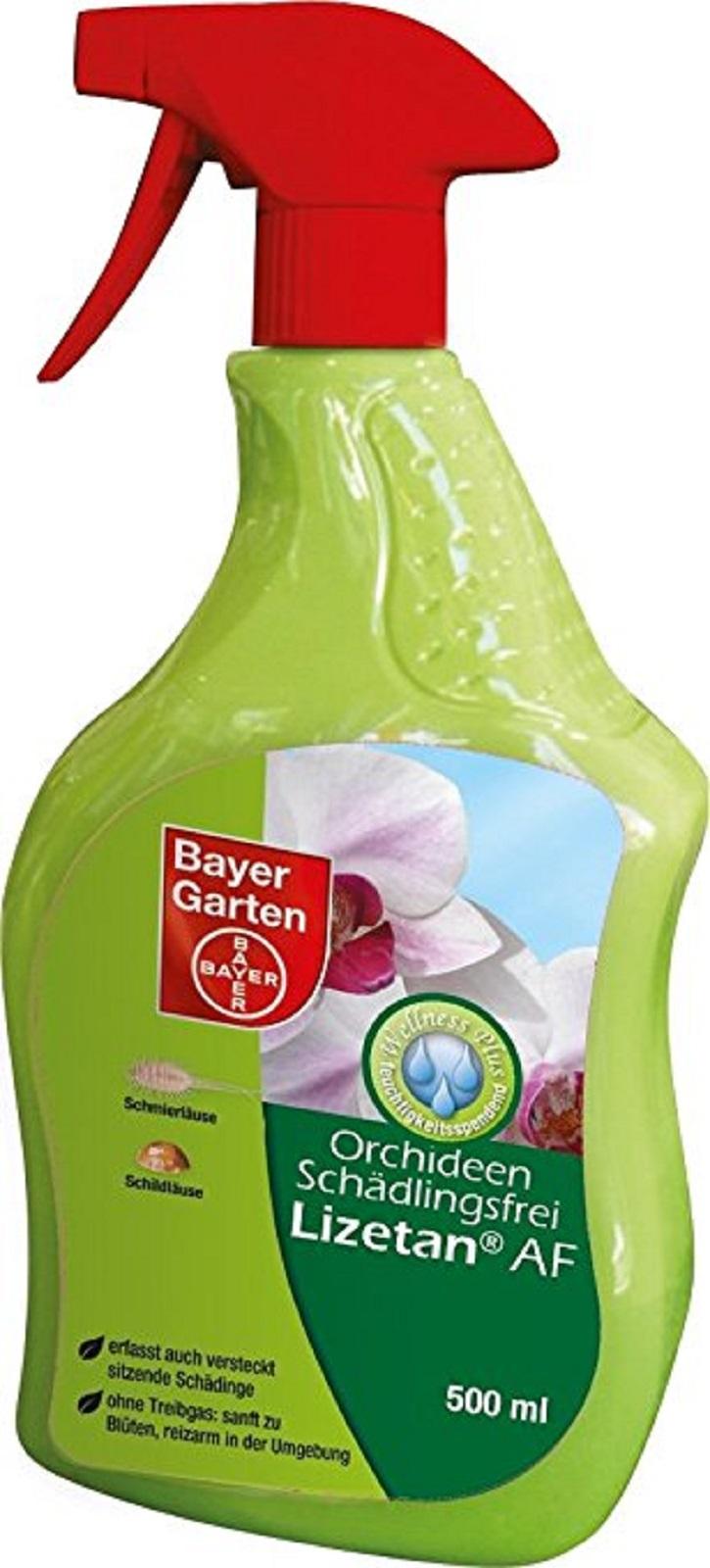 Bayer Orchideen Schädlingsfrei Lizetan AF 500 ml Sprühflasche