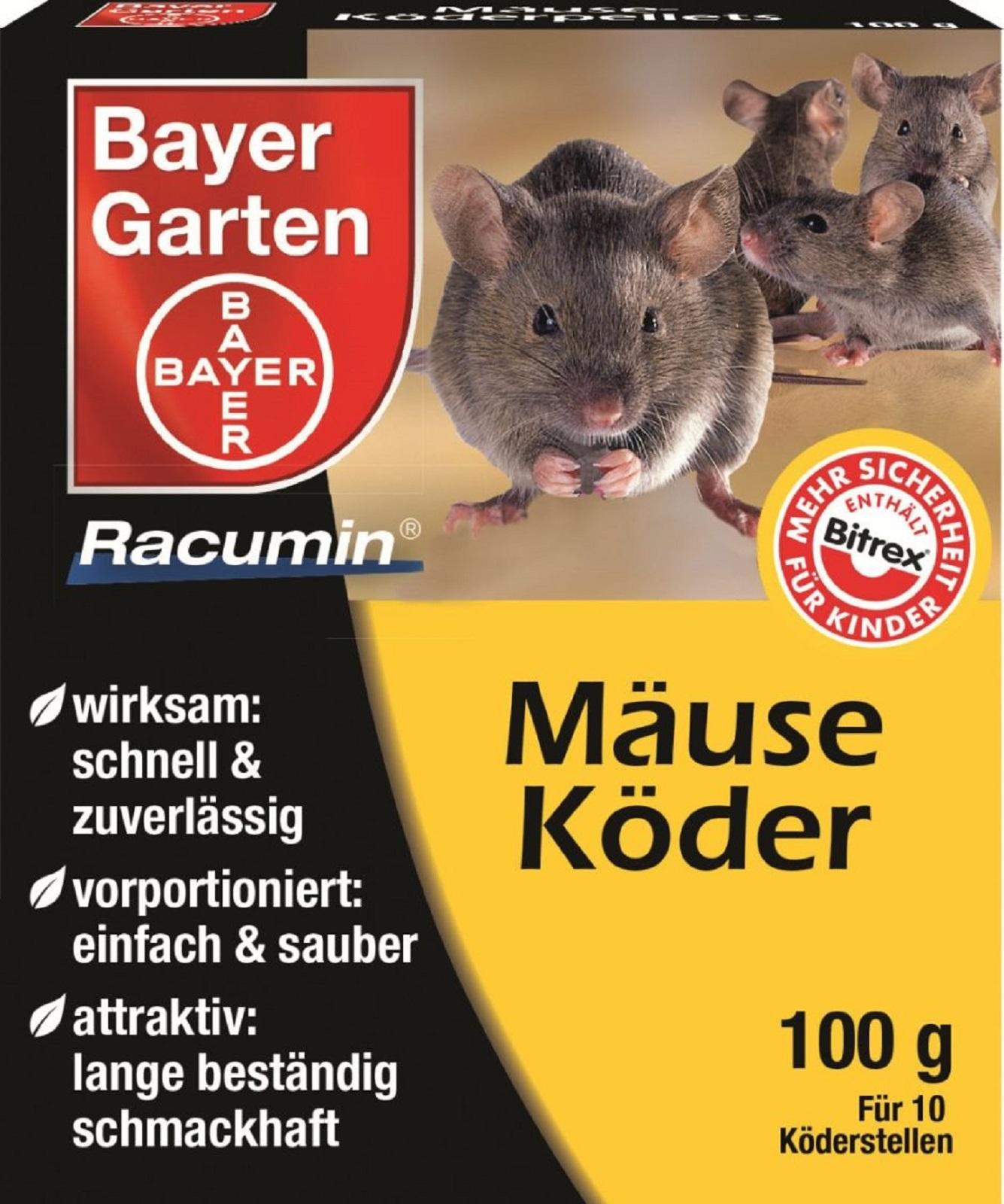 Bayer Mäuseköder Bitrex Mäuse Köder 100 g