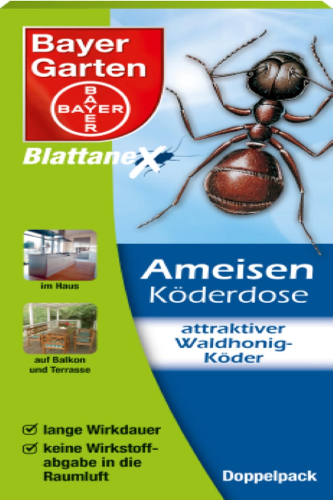 Bayer Blattanex Ameisen Köderdosen 2 Stk in der Packung