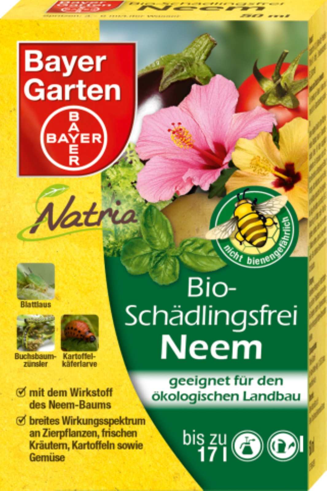 Natria Bio Schädlingsfrei Neem 50ml
