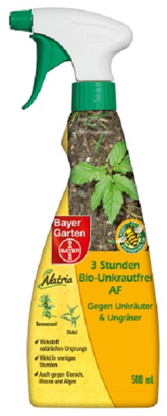 Bayer 3 Stunden Bio-Unkrautfrei 500 ml AF
