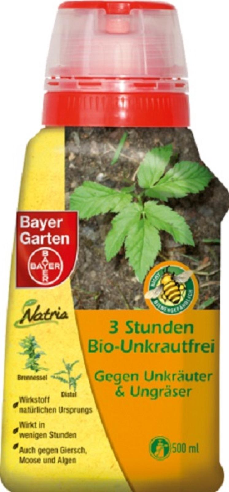 Bayer 3 Stunden Bio-Unkrautfrei 500 ml