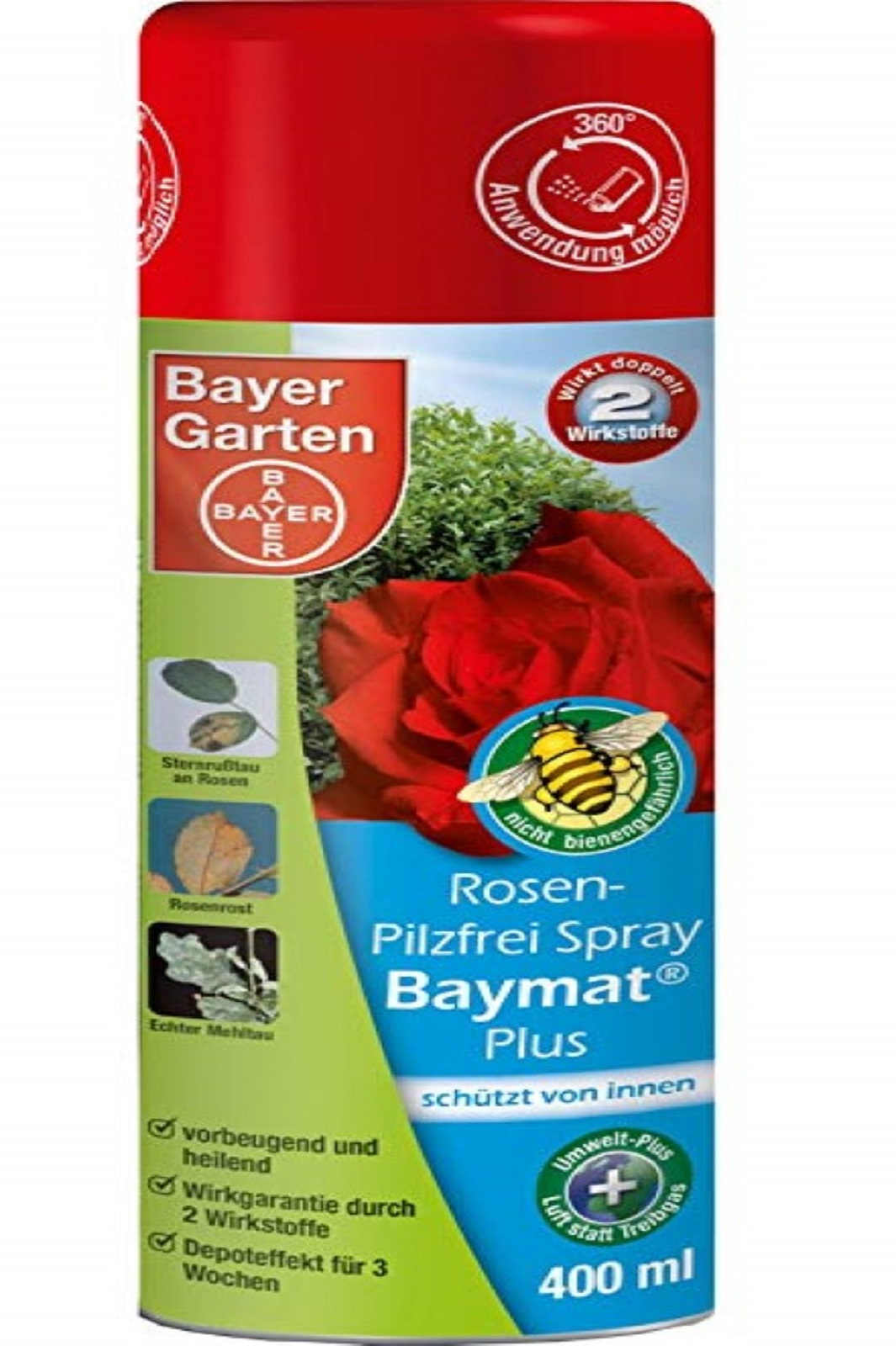 Bayer Rosen Pilzfrei Spray Baymat Plus 400 ml
