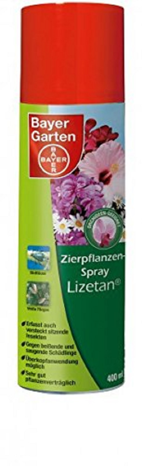 Bayer Zierpflanzenspray Lizetan 400 ml