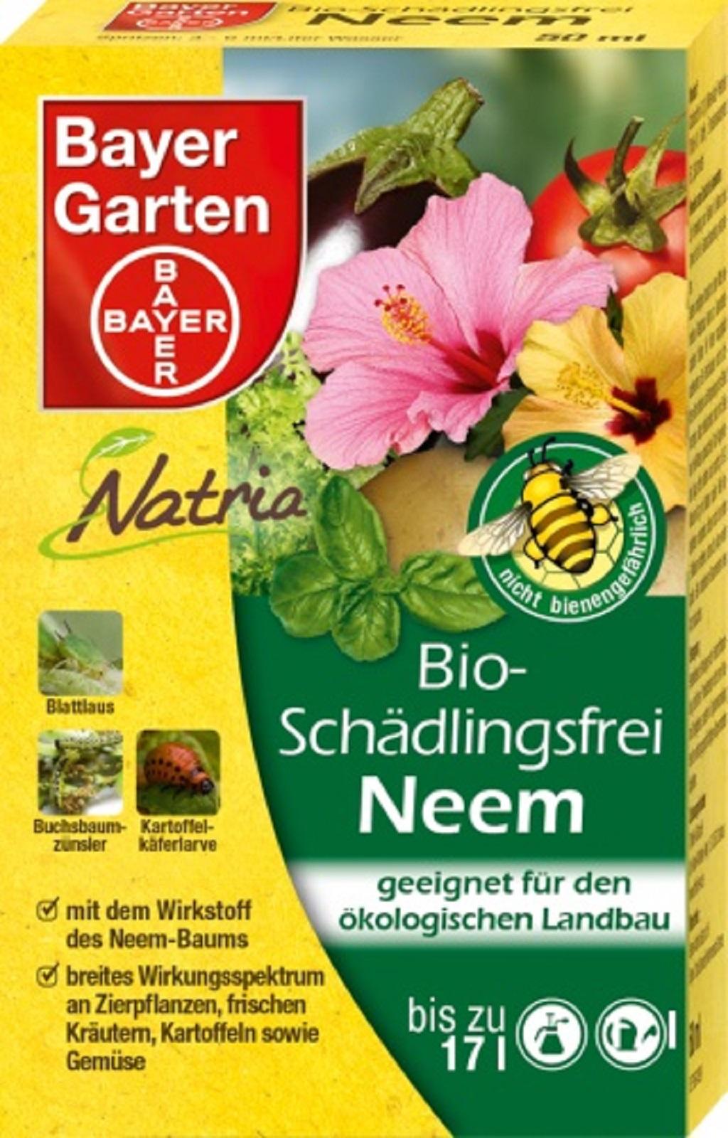 Bayer  Bio Schädlingsfrei Neem 50 ml
