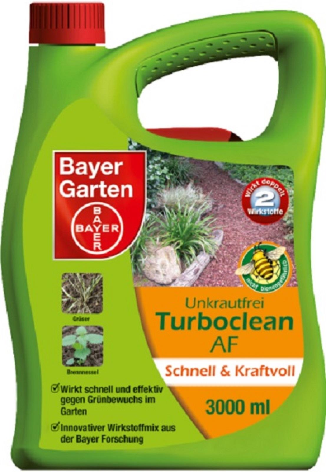 Bayer Unkrautfrei Turboclean 3 Liter