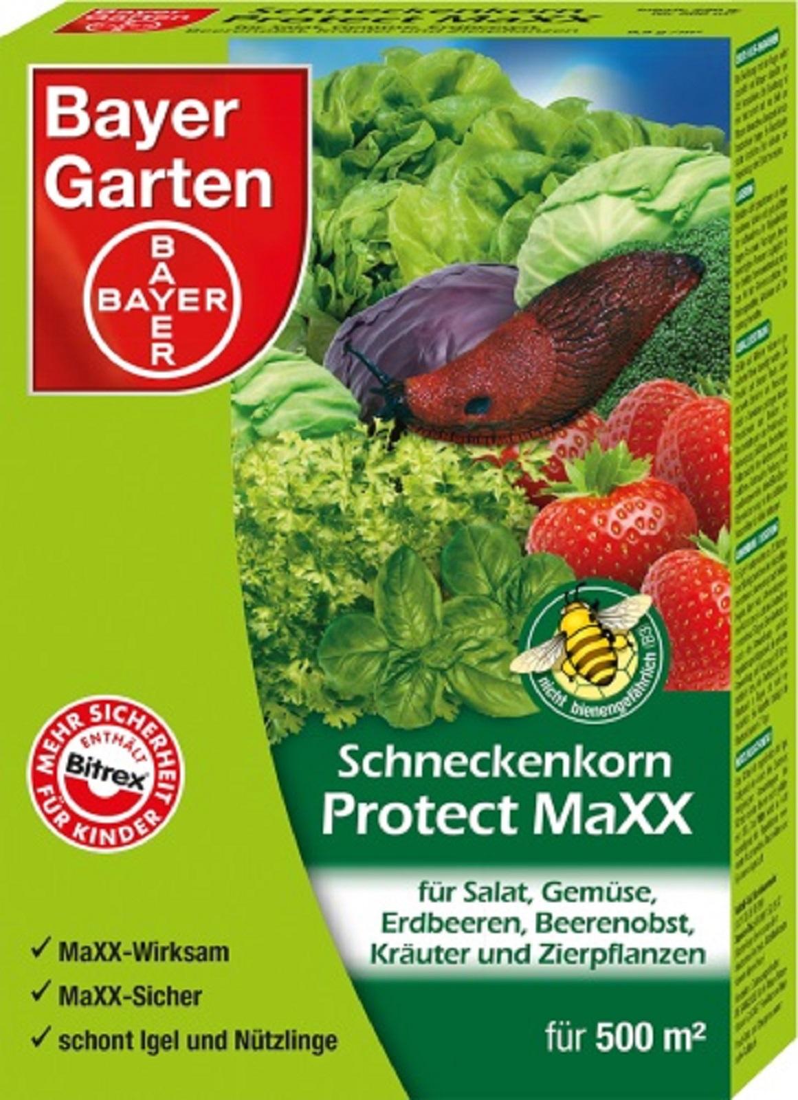 Bayer Schneckenkorn Protect Maxx 1 kg