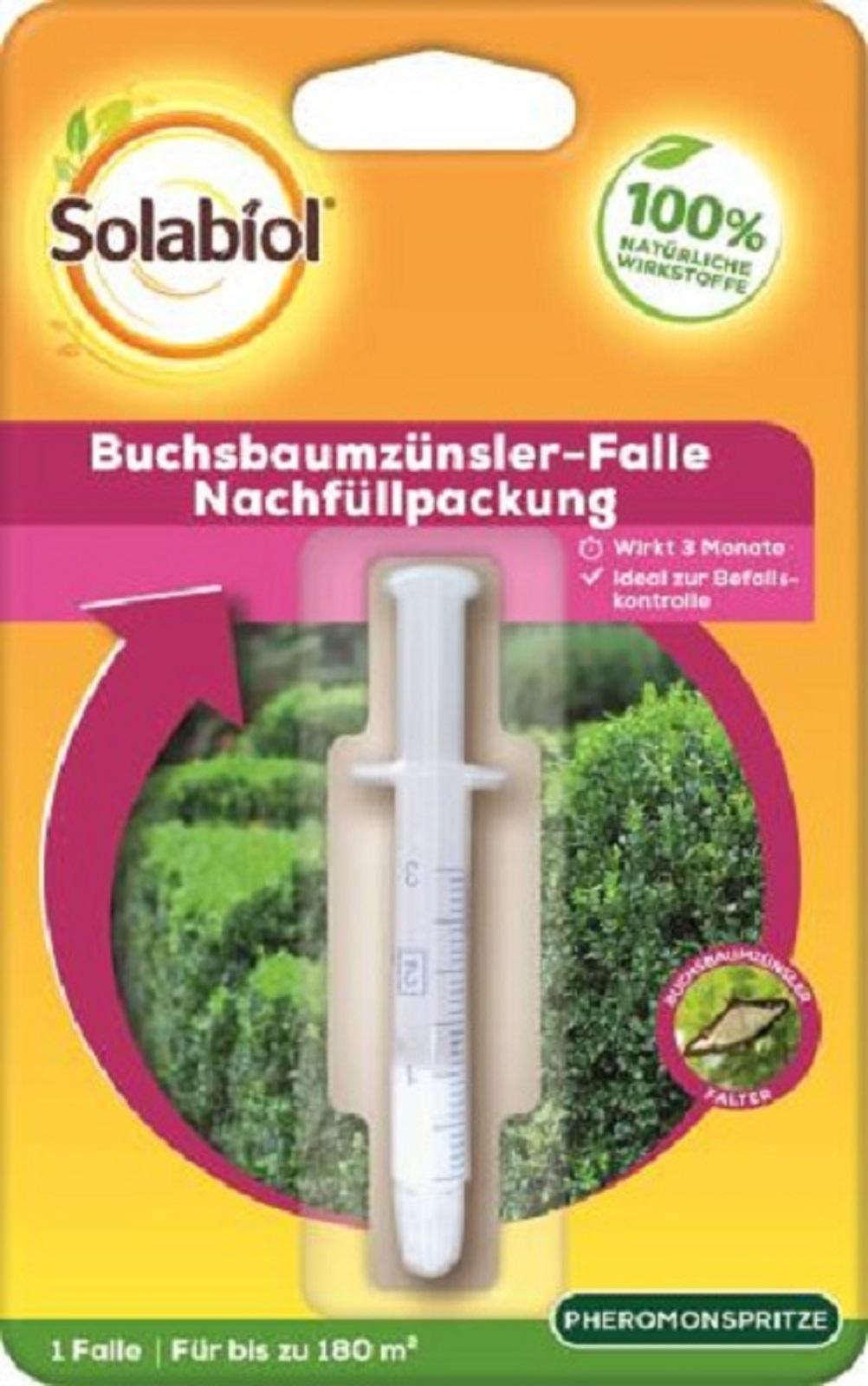 Solabiol Buchsbaumszünsler-Falle Nachfüllpack