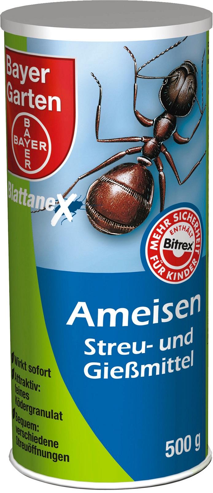 Bayer Ameisen Streu und Gießmittel 500 g Dose