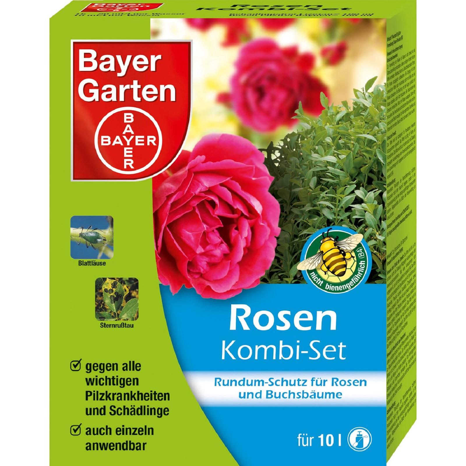 Bayer Rosen Kombi-Set Rundum Schutz für Rosen 100 ml