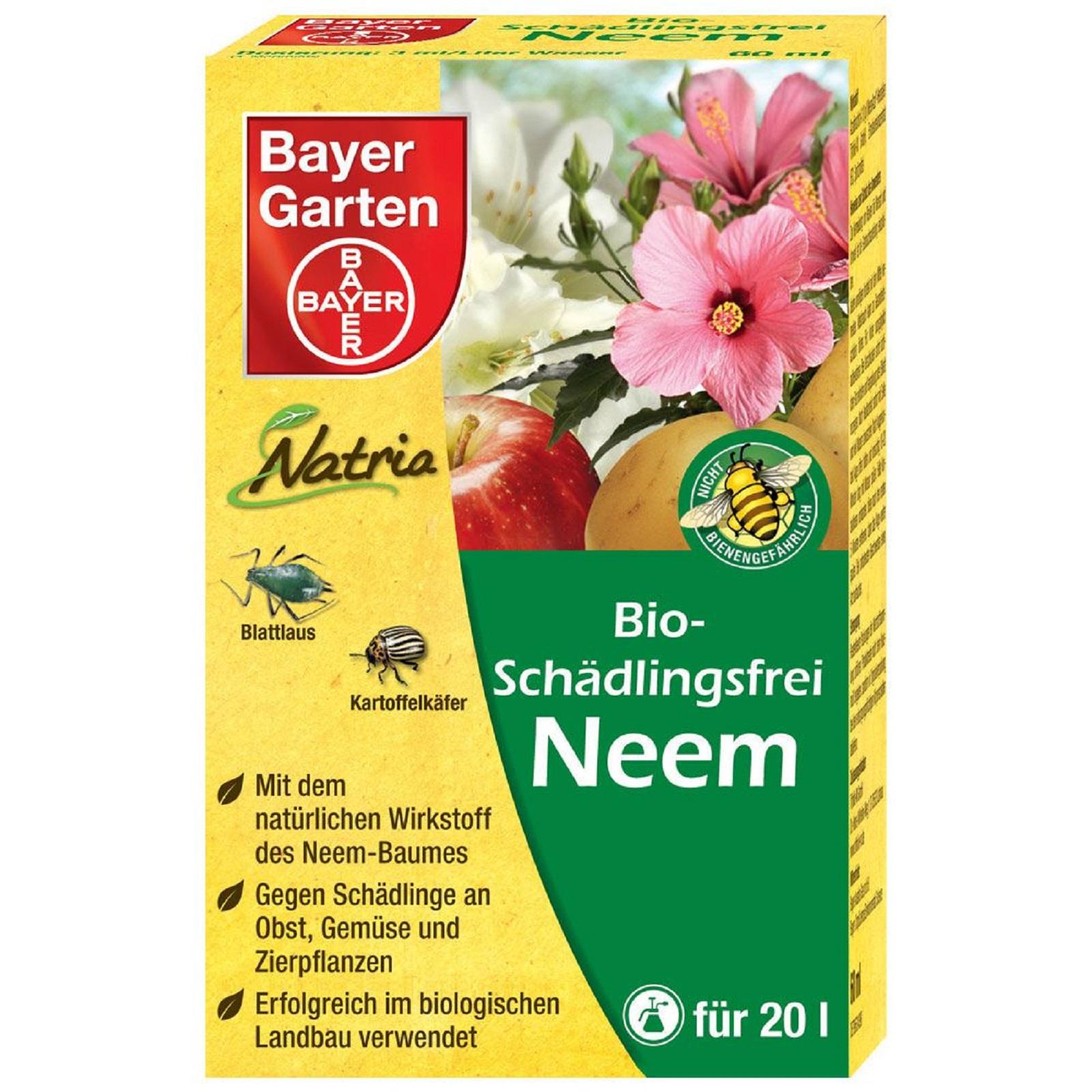 Neem Bio Schädlingsfrei 60 ml von Bayer Garten