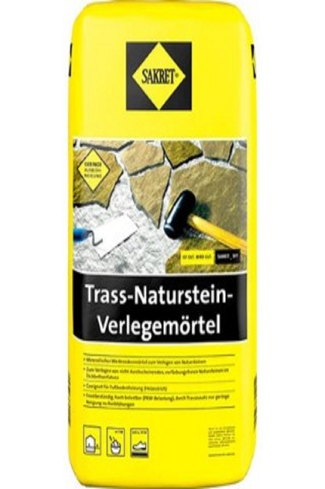 SAKRET Trassnaturstein-Verlegemörtel TNV 25kg
