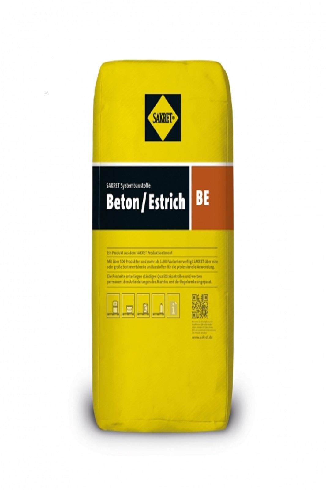 SAKRET Beton / Estrich BE 30 kg