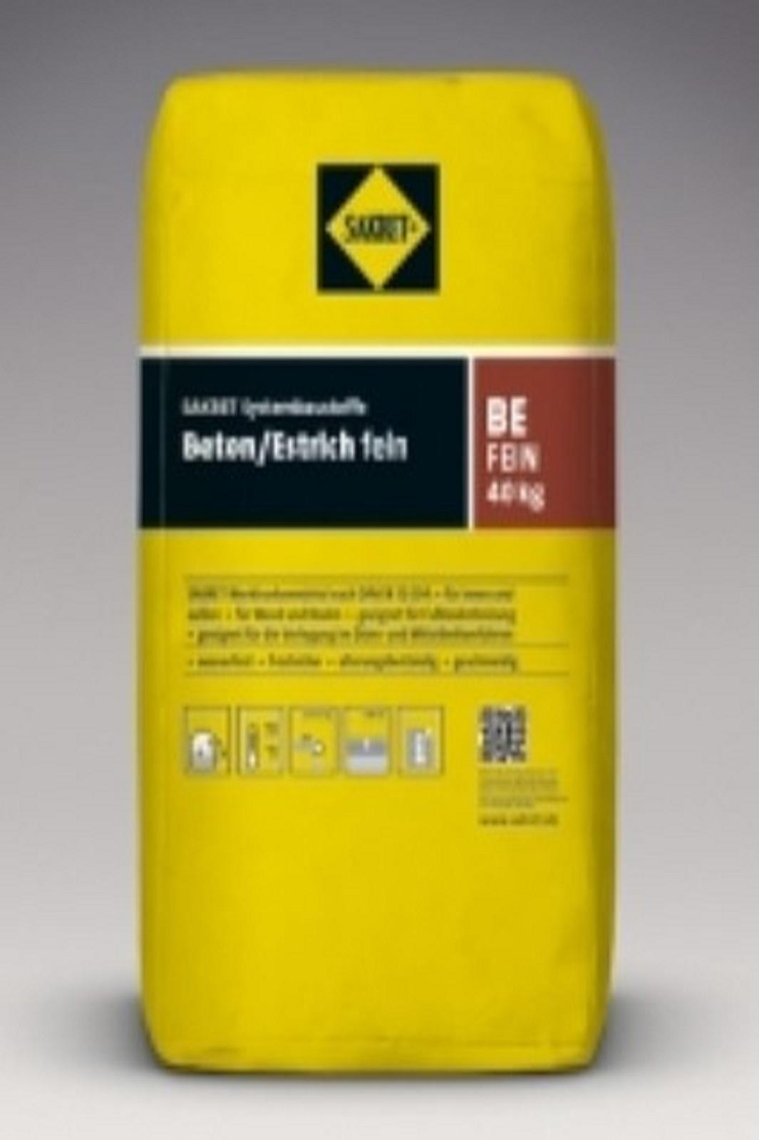 SAKRET Beton / Estrich fein BE fein 30kg