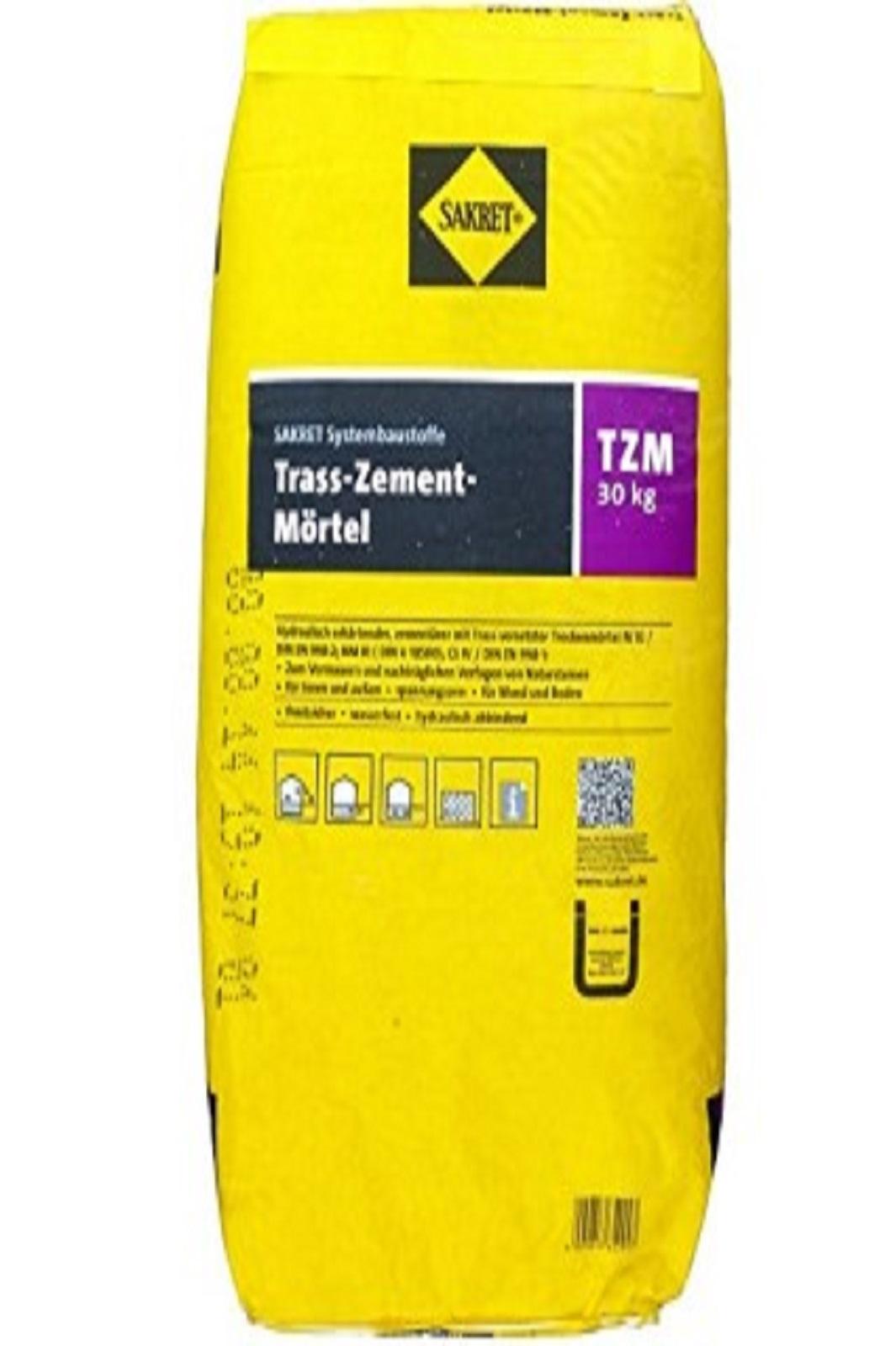 SAKRET Trass-Zement-Mörtel TZM 30kg