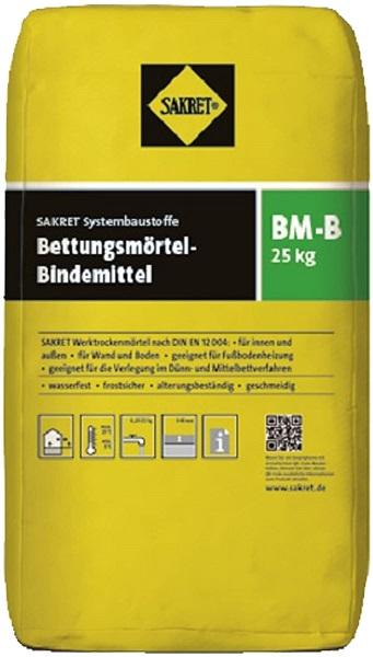 SAKRET Bettungsmörtel-Bindemittel BM-B 25 kg  für Pflaster und Fußbodenheizung