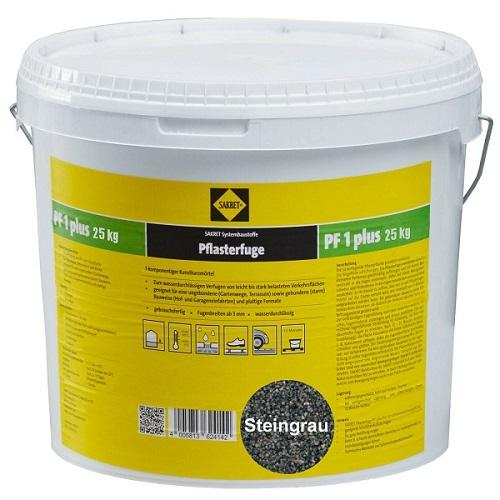 SAKRET Pflasterfugenmörtel PF1 plus steingrau 25 kg