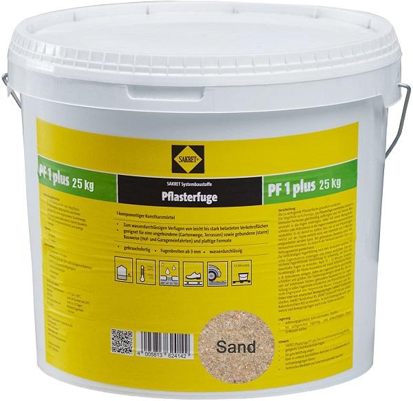 SAKRET Pflasterfugenmörtel PF1 plus sand 25 kg