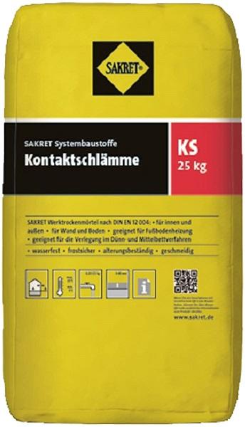 SAKRET Kontaktschlämme KS grau 25 kg