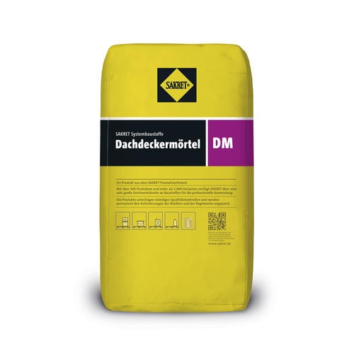 SAKRET Dachdeckermörtel DM grau 25 kg