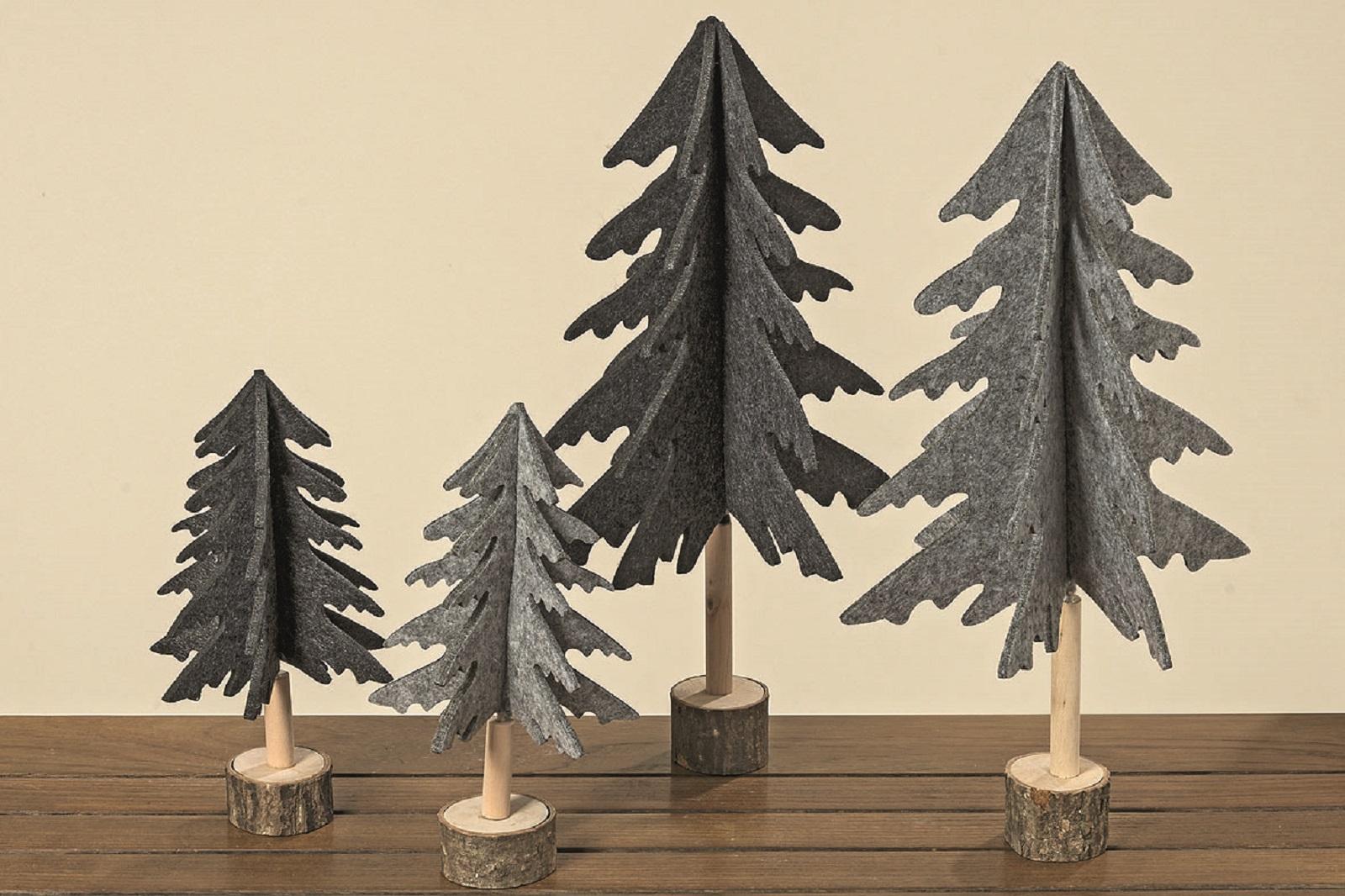 Baum Filz Dekobaum H 26 cm Stückpreis
