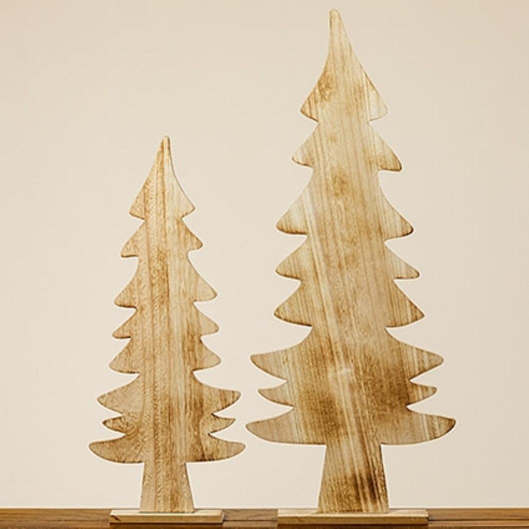 Weihnachtsbaum Kjell Tannenbaum Deko Baum Holz natur 61 cm