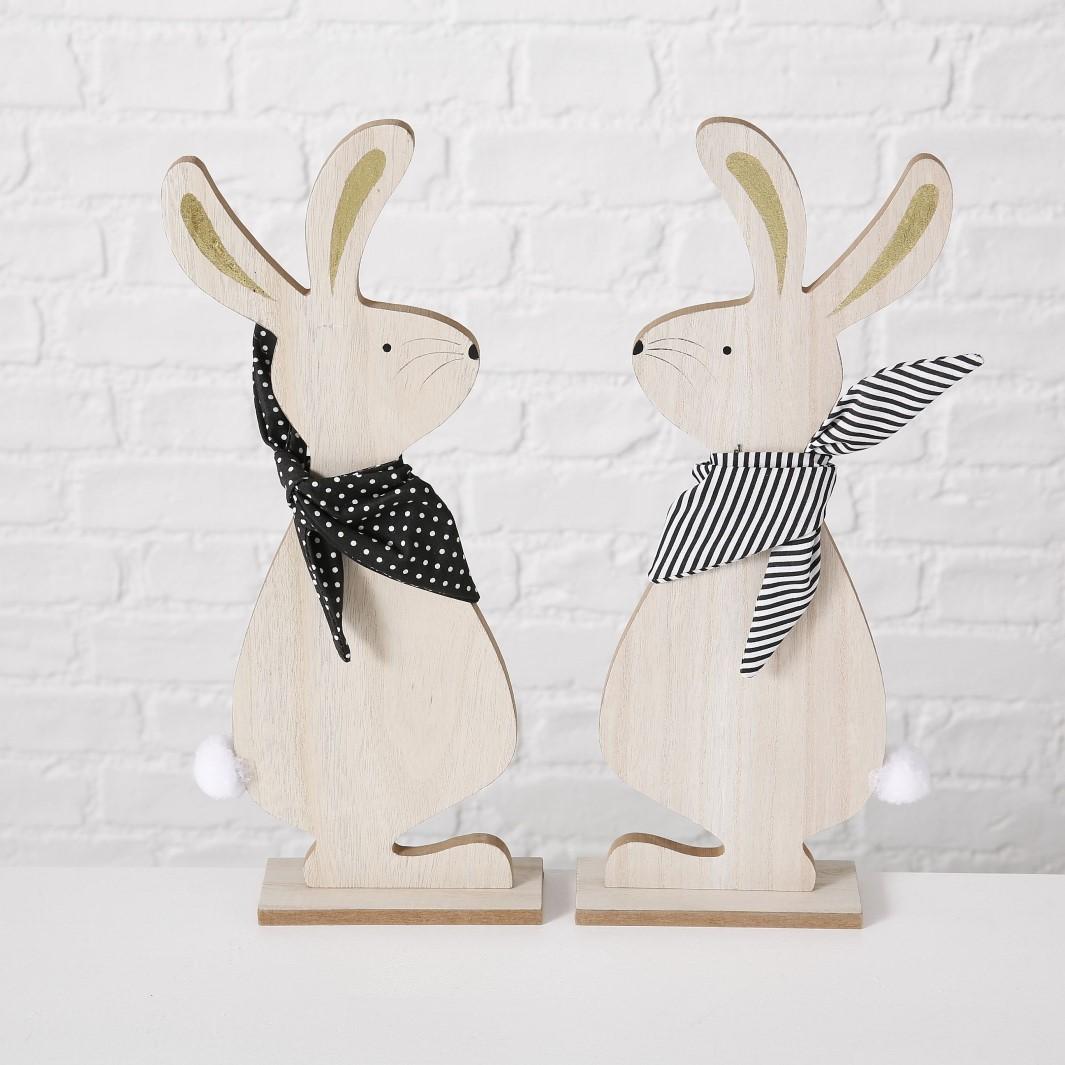 Hase Holzständer Ostern Holzhase H 40 cm Stückpreis