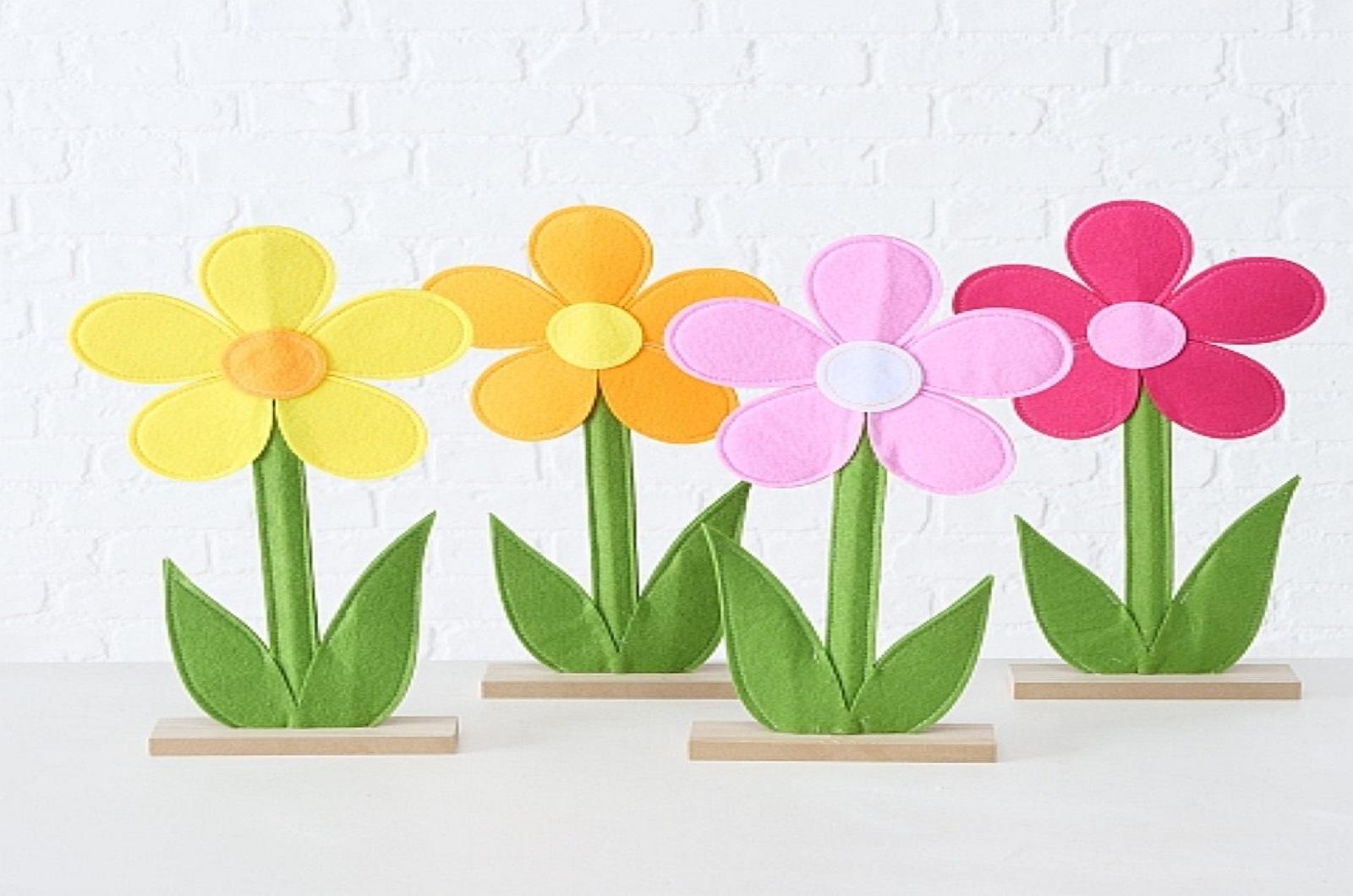 Blume Dekoaufsteller Larina 4 Ausfürungen Stückpreis