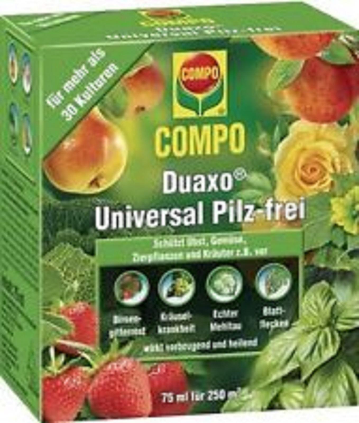 Compo Duaxo Universal Pilz frei Bekämpfung von Pilzkrankheiten 75 ml