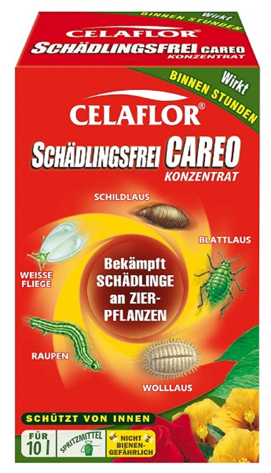 Celaflor Schädlingsfrei Careo Konzentrat Zierpflanzen 100 ml
