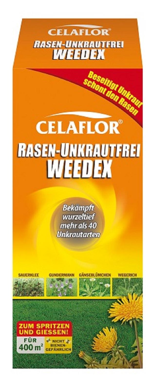 Celaflor Rasen Unkrautfrei Weedex 100 ml Unkrautvernichter