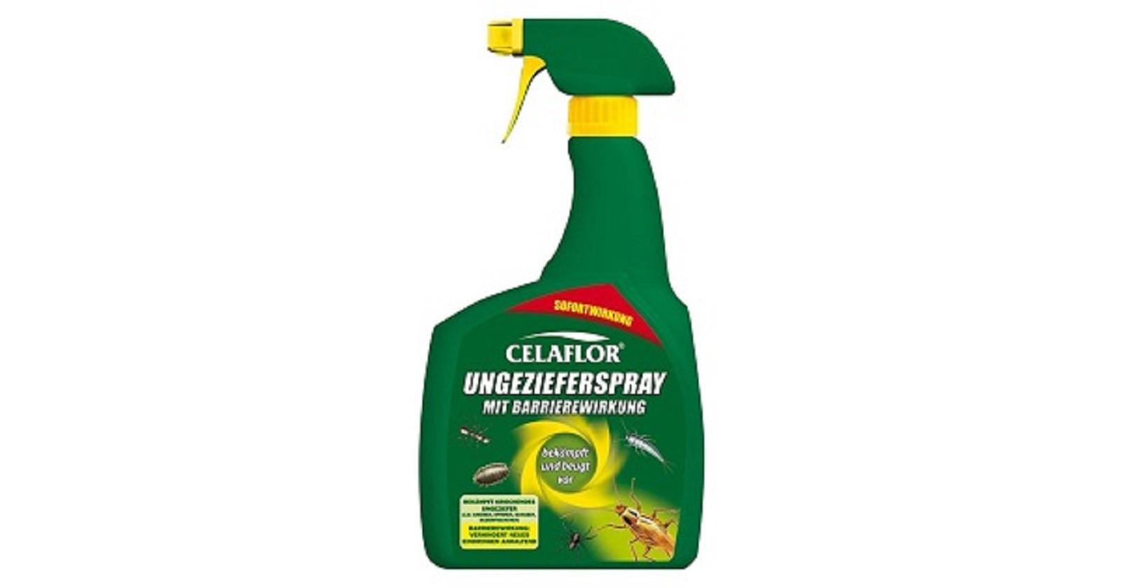 Celaflor Ungezieferspray mit Barrierewirkung  Neu 800 ml