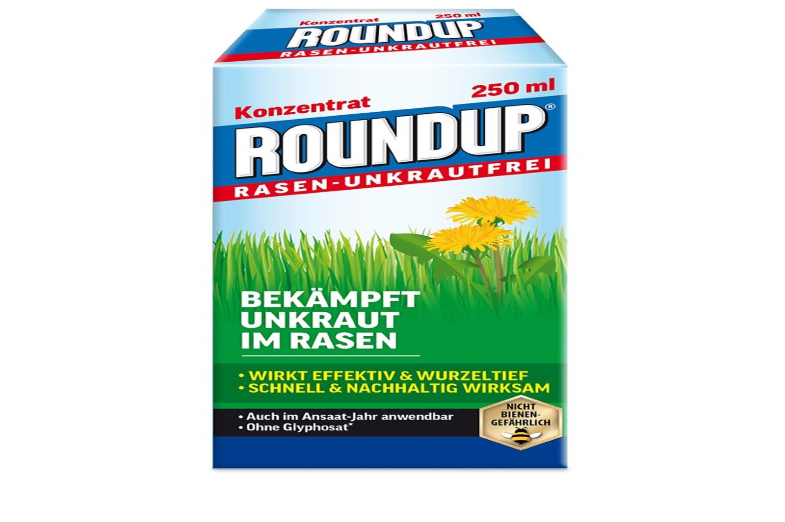 Round up Rasen Unkrautfrei Konzentrat 250 ml