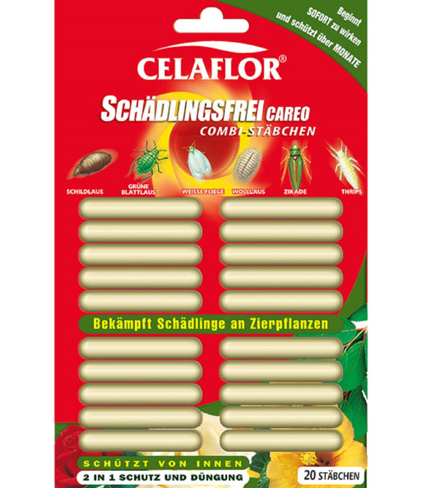 Celaflor Schädlingsfrei CAREO Combi Stäbchen 20 Stück