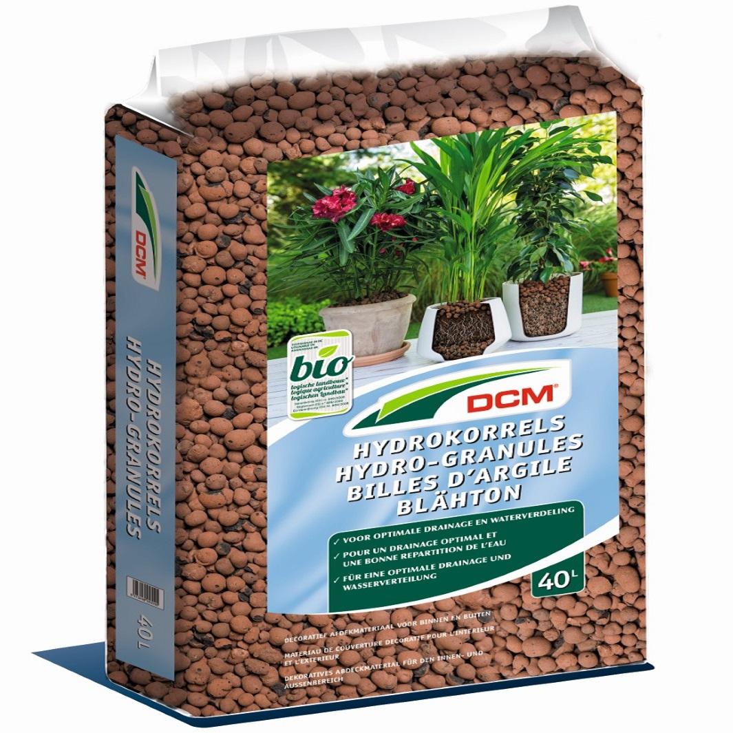 Cuxin Blähton Hydrogranulat Hydrokulturen Pflanzschalen  Tongranulat  40 Liter