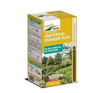 Cuxin Universaldünger Plus 1,5 kg Volldünger Obst Gemüse  Garten Dünger