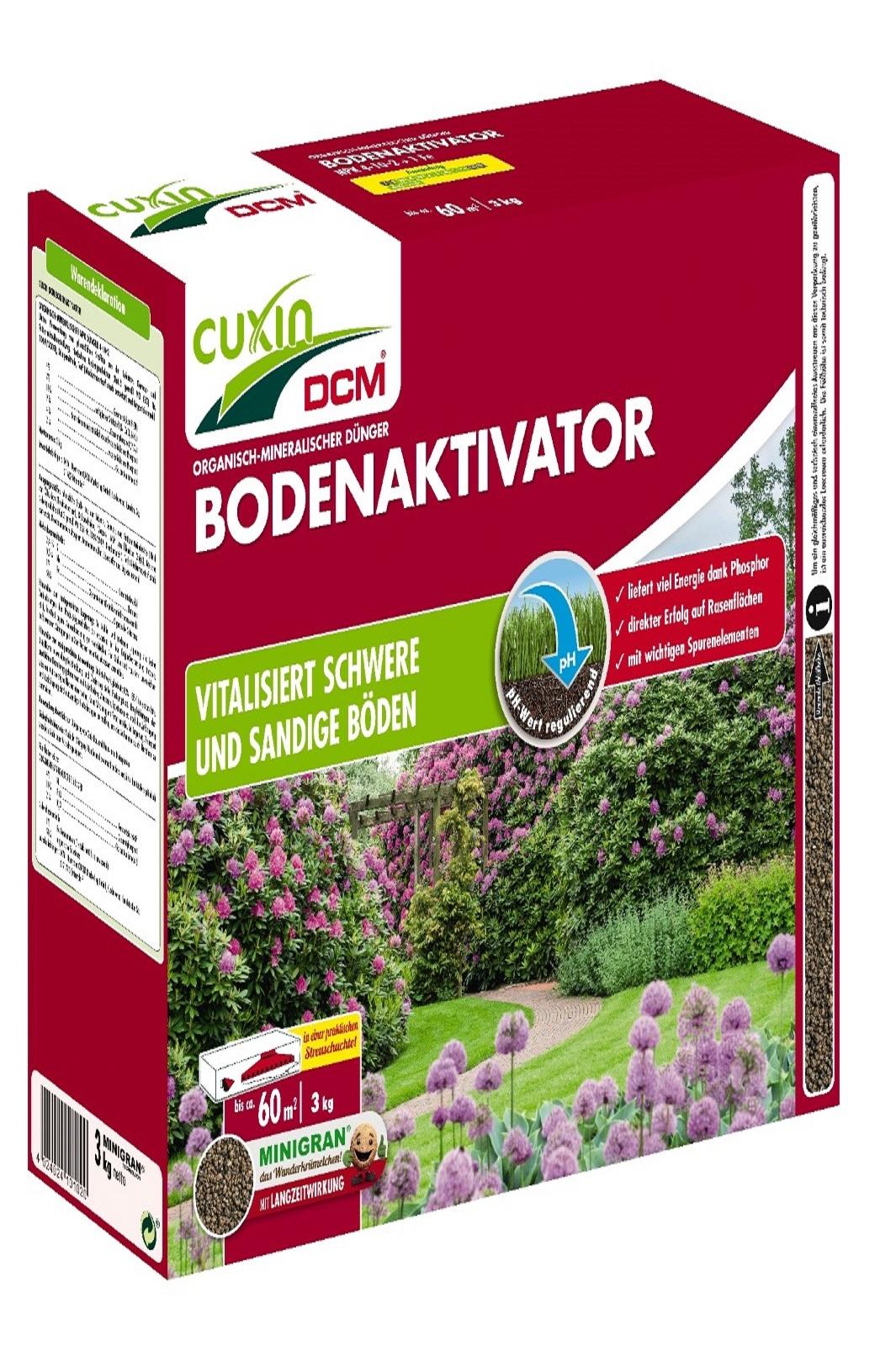 Cuxin Bodenaktivator Bodenvitalisierung Bodenhilfe Bodenhilfstoff  3,0kg