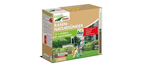 Cuxin  DCM Rasen Natur Dünger 3 kg