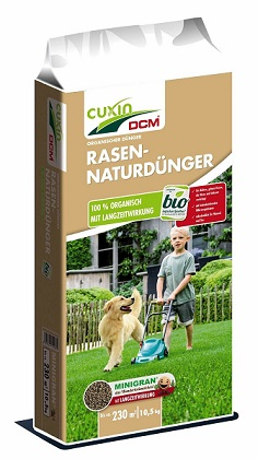 Cuxin  Natur Rasendünger Frühjahr  10,5 kg  bis 230 m2