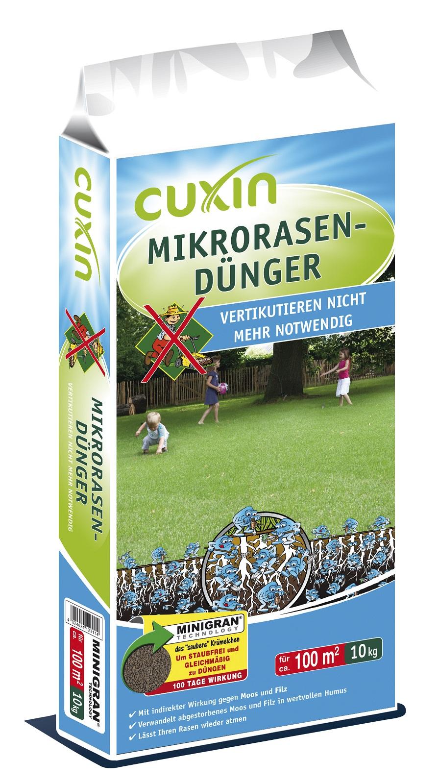 Cuxin Micro Rasendünger 10 kg