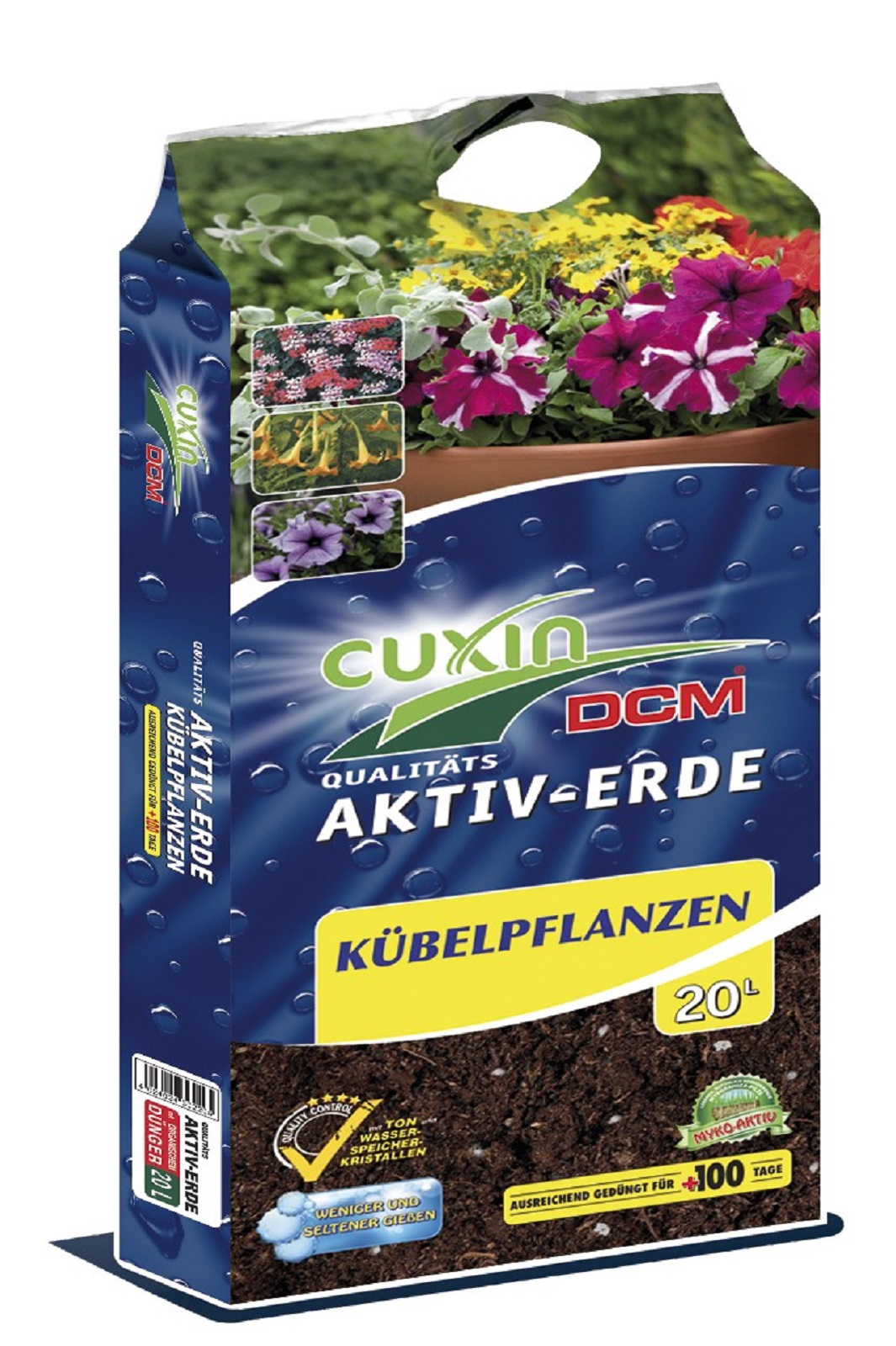Cuxin Aktiv Erde Kübelpflanzen 20 Liter