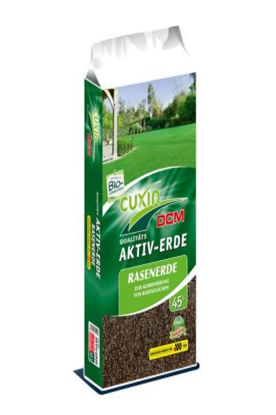 Cuxin Aktiv Erde für Blumen und Balkonkasten 70 Liter
