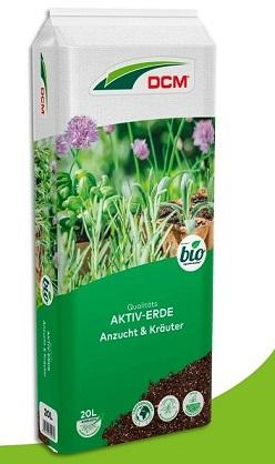 Cuxin Aktiv-Erde Anzucht & Kräuter 20 l