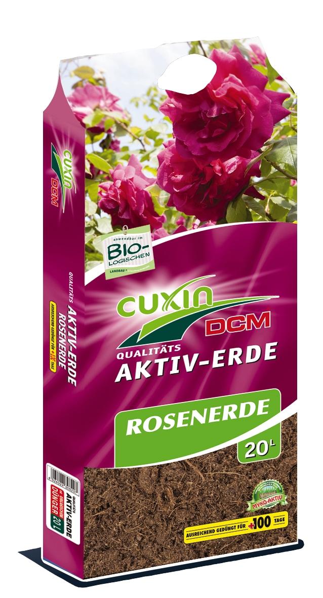 Cuxin Aktiv Erde Rosenerde 20 Liter
