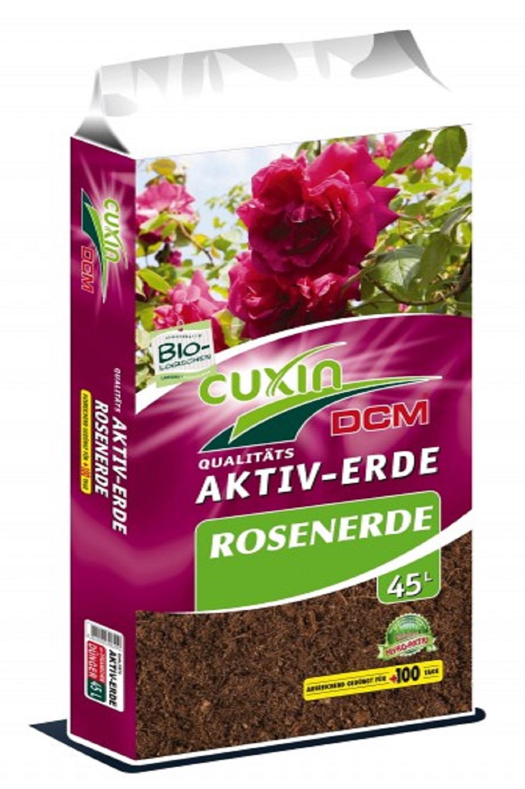 Cuxin Aktiv Erde Rosenerde 45 Liter