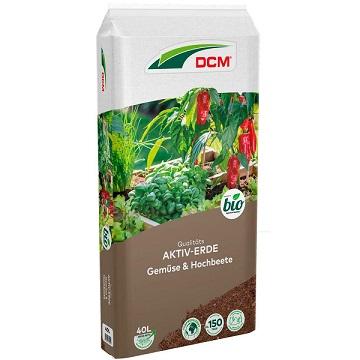 Cuxin Aktiv-Erde Gemüse & Hochbeete 40 l