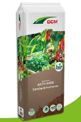 Cuxin Aktiv-Erde Gemüse & Hochbeete 20 l
