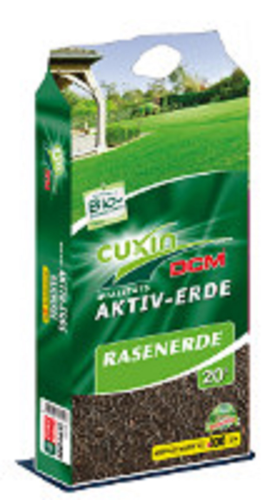 Cuxin DCM Aktiv Erde Rasenerde 20 Liter