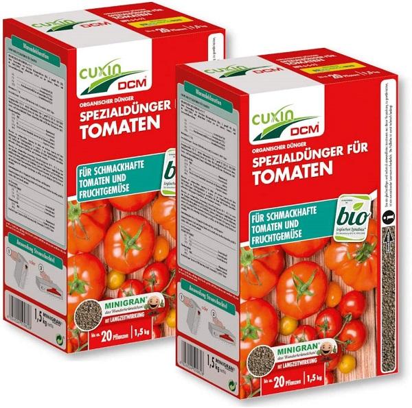 Cuxin  Dünger Organischer Dünger Tomaten Garten Gemüse Bio 2 x 1,5 kg